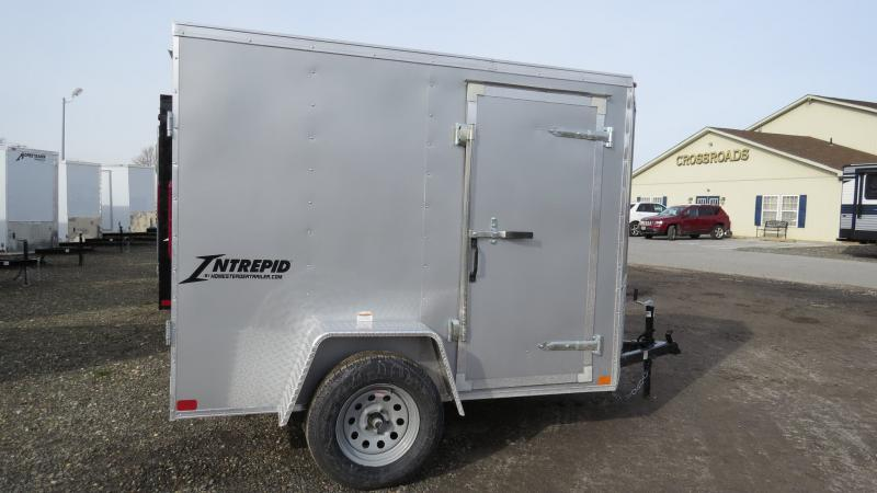 2021 Homesteader Intrepid 5x8 ENCLOSED CARGO TRAILER