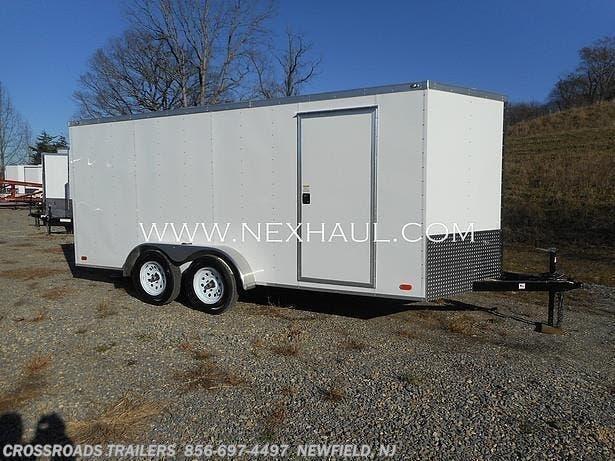 2021 Nexhaul 7' x 14' Enclosed Advantech flooring 15 yr warranty