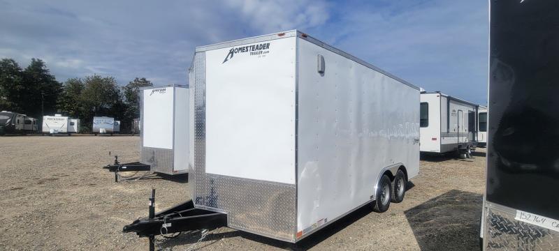 2022 Homesteader Intrepid 8x16 Enclosed Cargo Trailer