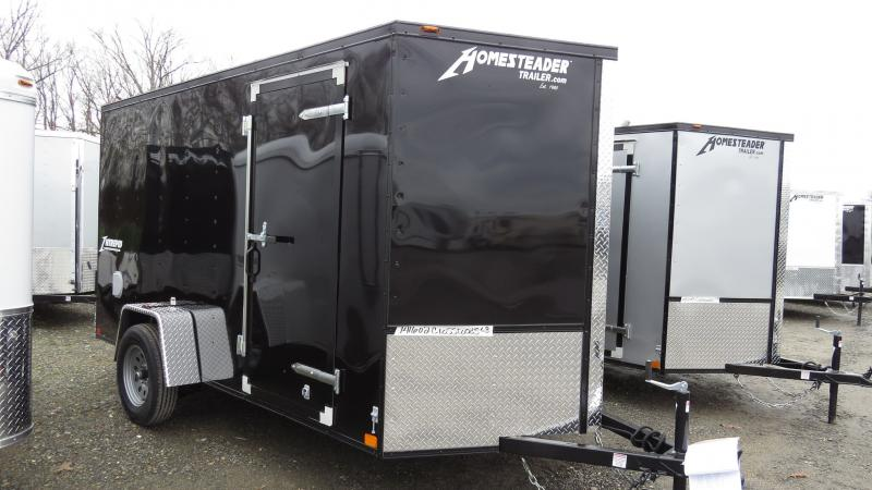 2021 Homesteader Intrepid 6X12 ENCLOSED CARGO TRAILER