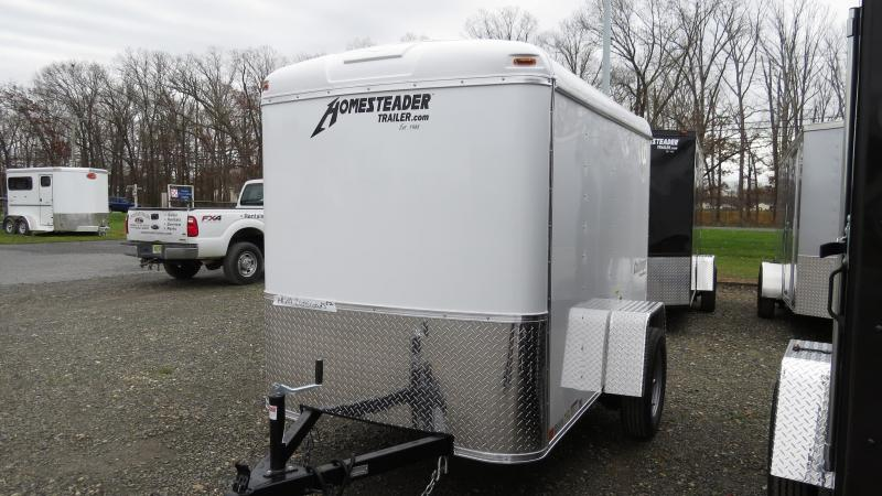 2021 Homesteader Challenger 5X8 ENCLOSED CARGO TRAILER