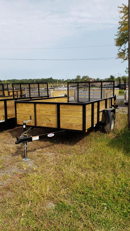 New 6.4x10 Woodside Landscape Utility Trailer