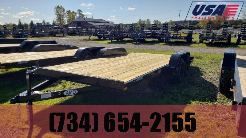 New 82x18 Carhauler Trailer W 1 Axle Brake