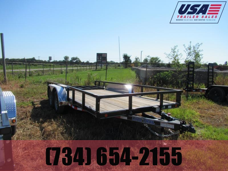 New 83x18 Landscape Trailer