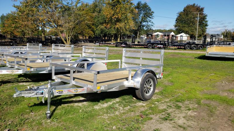 NEW 60X8 ALUMINUM SHORT SIDE TRAILER