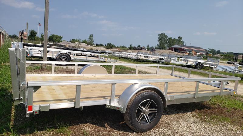 New 82x14 ATV Landscape Trailer Aluminum Frame