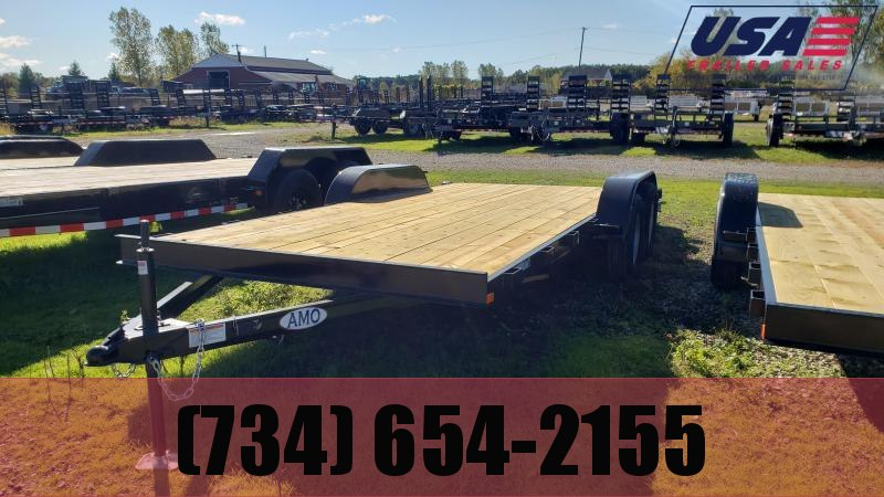 New 82x20 Carhauler Trailer W 2 Axle Brake