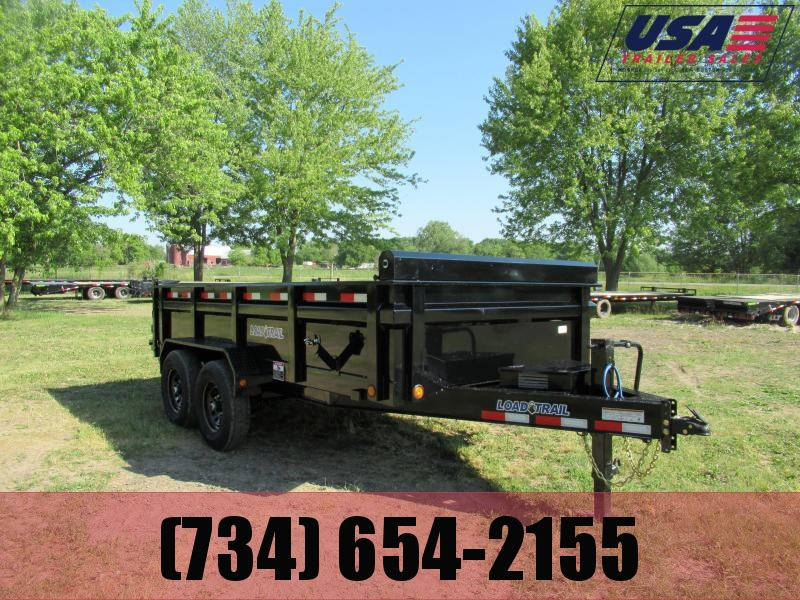 New Load Trail 83x14 14K Dump Trailer
