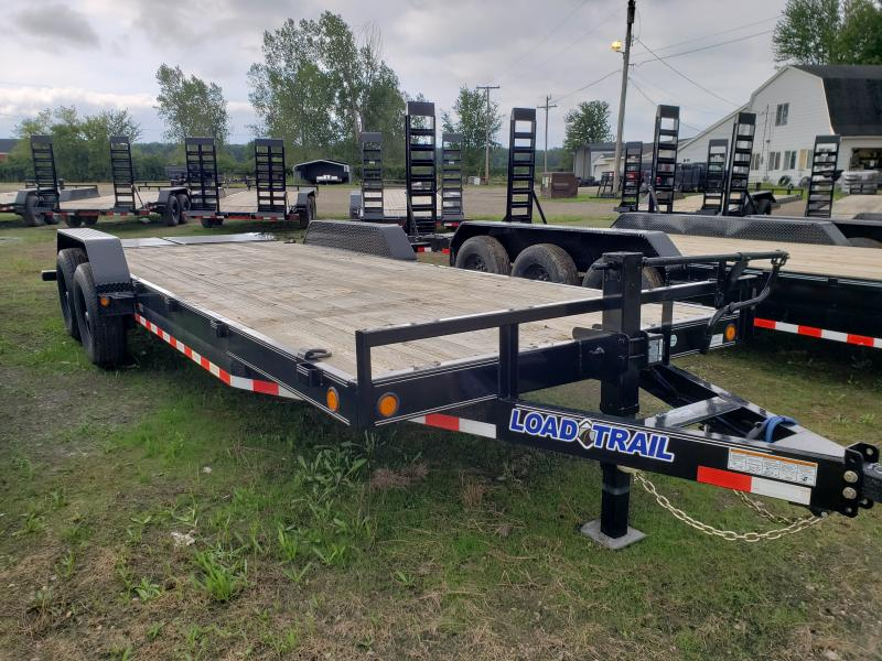 New 83x22 14K Load Trail Equipment Trailer W/ Max Ramps