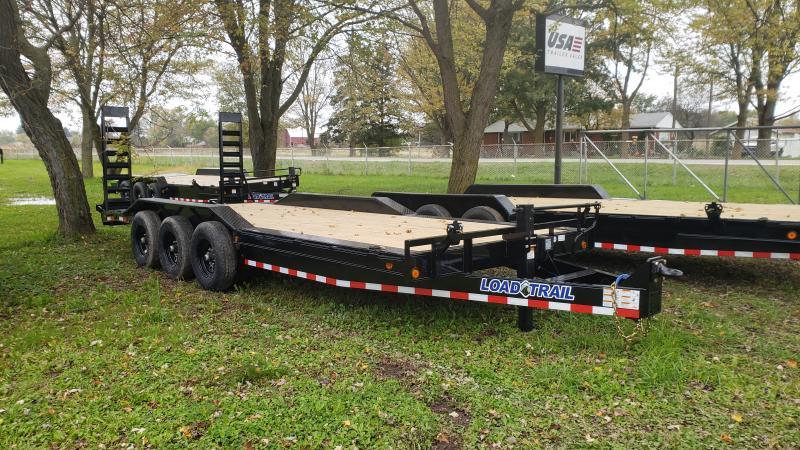 New 102x22 Triple Axle Equipment Trailer Equipment Trailer