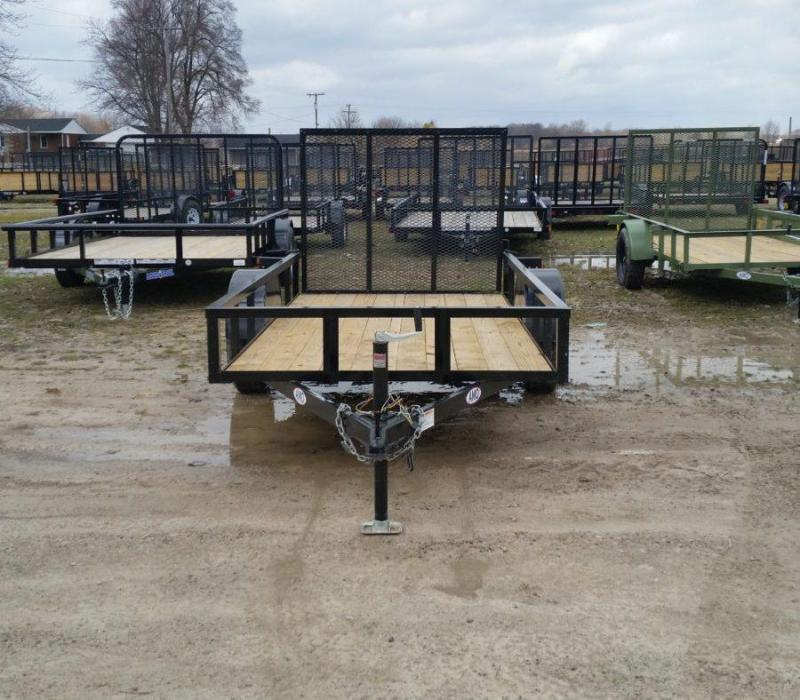 New 5x10 Short Side Landscape Utility Trailer
