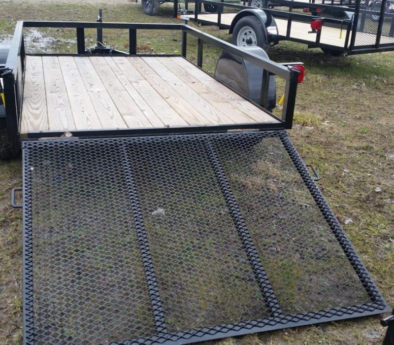 2021 American Manufacturing Operations (AMO) 5x10 landscape Utility Trailer