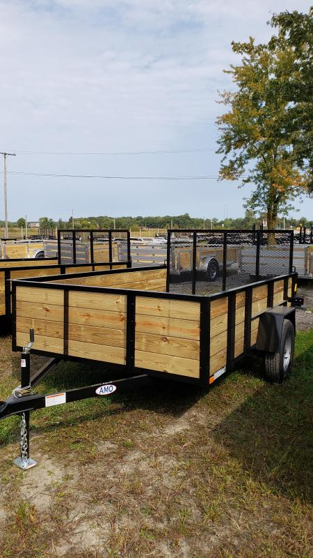 New 6 4x10 Woodside Landscape Utility Trailer