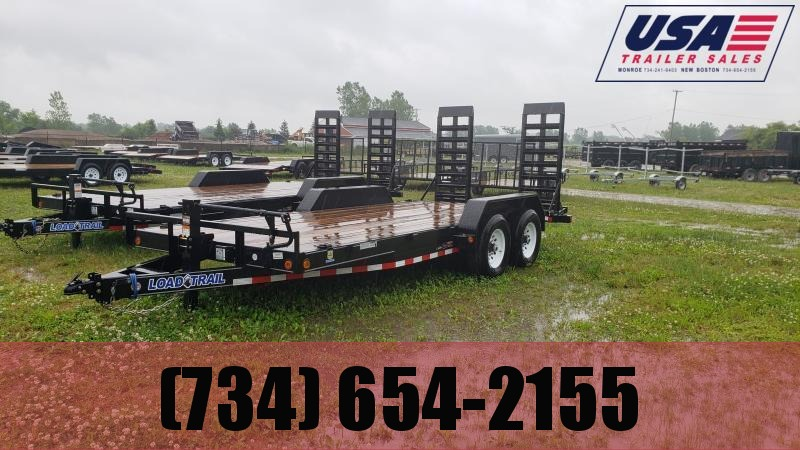 2021 Load Trail 83x20 14K Equipment Trailer W/ Rub Rail