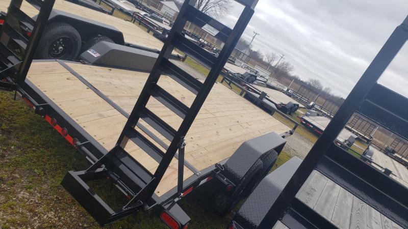 New 83x18 14K Load Trail Equipment Trailer W/Tool Box