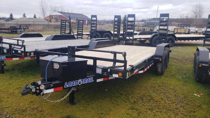 New 83x18 14K Load Trail Equipment Trailer W/Tool Box