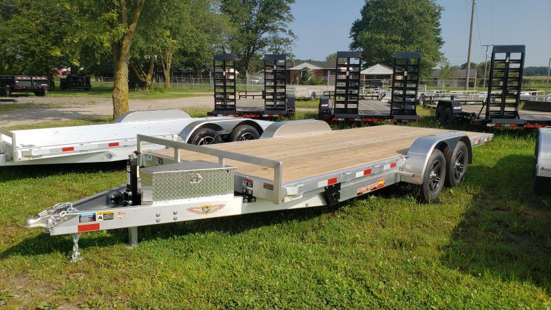 New 82x20 Aluminum Electric Tilt Speed Loader 7K