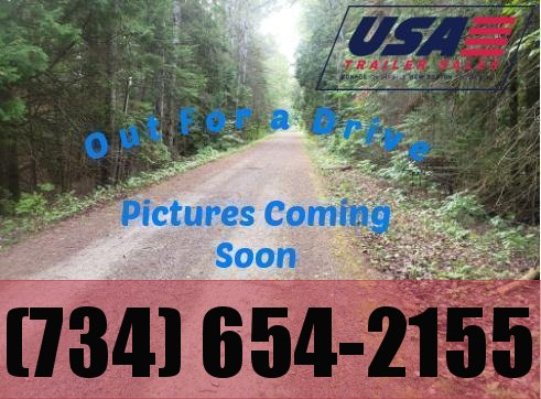 NEW 76X18 LANDSCAPE TRAILER W ONE AXLE BRAKE