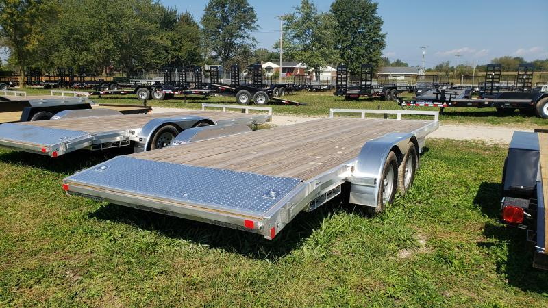 New 22' 7K Aluminum Carhauler Car / Racing Trailer