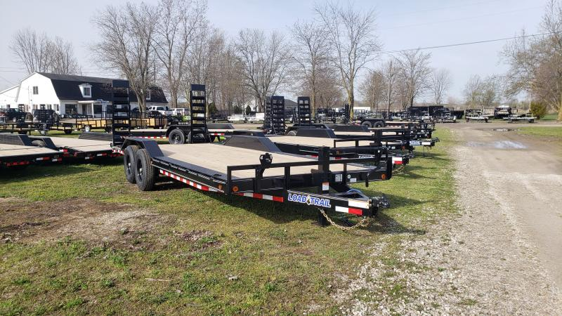 NEW 102X22 LOAD TRAIL 14K EQUIPMENT TRAILER
