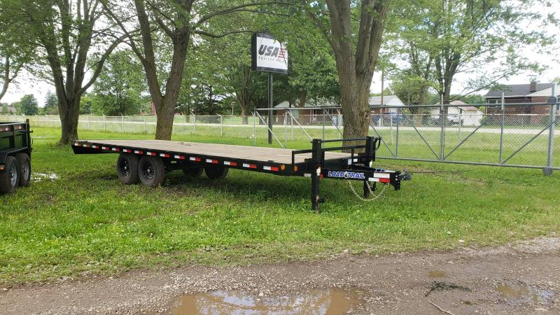 New 24' 14K Load Trail Deck Over Flat Bed