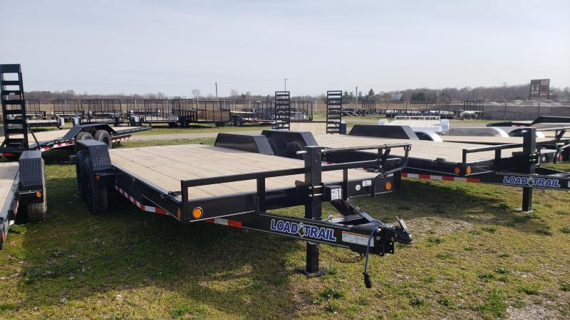NEW 83X20 LOAD TRAIL 14K CARHAULER TRAILER
