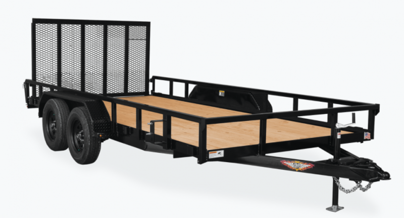 New 82x18 H&H 7K Landscape Trailer