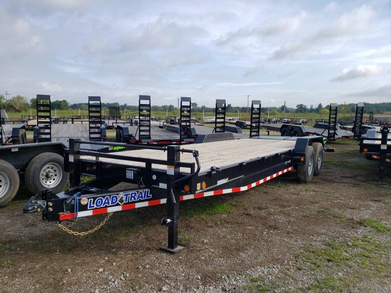 New 83x2414K Load Trail Equipment Trailer W Max Ramps
