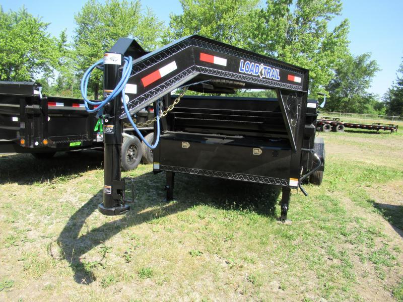 2020 Load Trail 83X14 Gooseneck Dump Dump Trailer