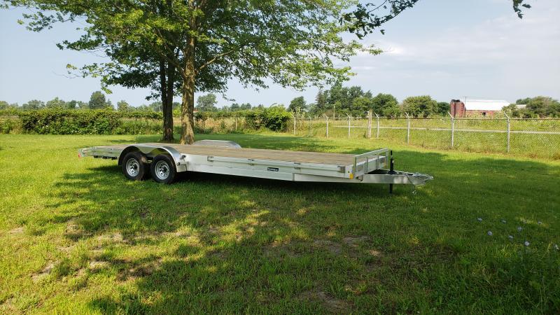 New R/C 24' 10K Aluminum Carhauler Trailer