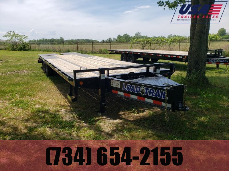 New 30' Low Pro Deck Over Equipment Trailer