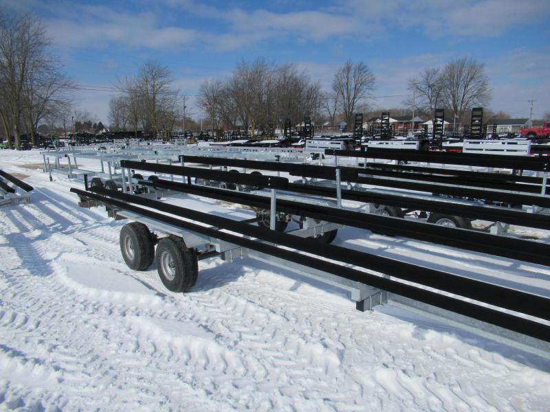 2021 Genesis 24' Tandeam Axle Float On Pontoon Boat Trailer