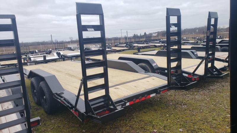 New 102x20 14K Equipment Trailer W/ Drive Over Fenders