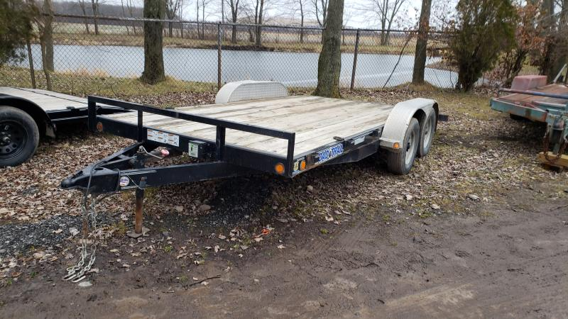2016 Load Trail Used 16' Load Trail Carhauler Trailer Car / Racing Trailer