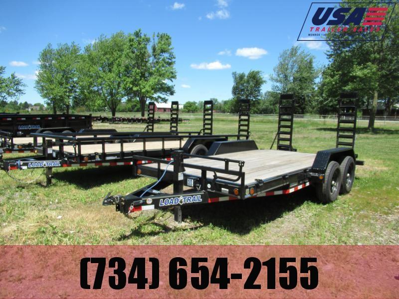 New Load Trail 83x20 14K Equipment Trailer