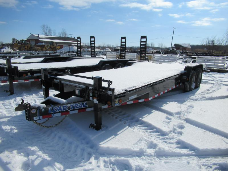 New 83x24 14K Load Trail Equipment Trailer W/Max Ramps