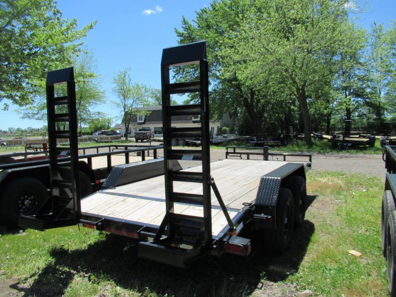 New Load Trail 83x18 14K Equipment Trailer