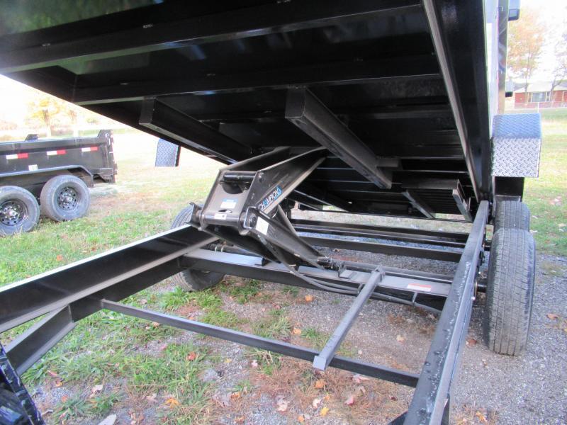 NEW 83X14 H&H DUMP TRAILER LOADED !!!!!