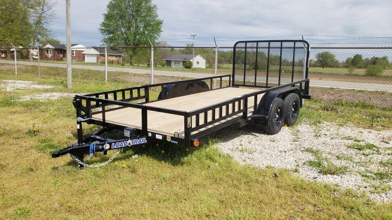 New 83x16 Load Trail Landscape Trailer W/ATV Ramps