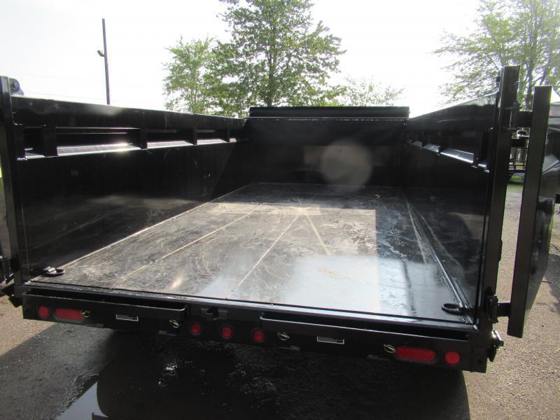 New Load Trail 83x14 14K Dump Trailer W/3' Walls