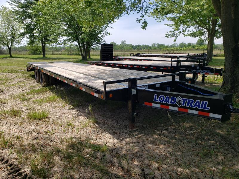 New 25' Low Pro Deck Over Equipment Trailer