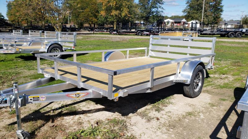 NEW 82X12 ALUMINUM SHORT SIDE TRAILER
