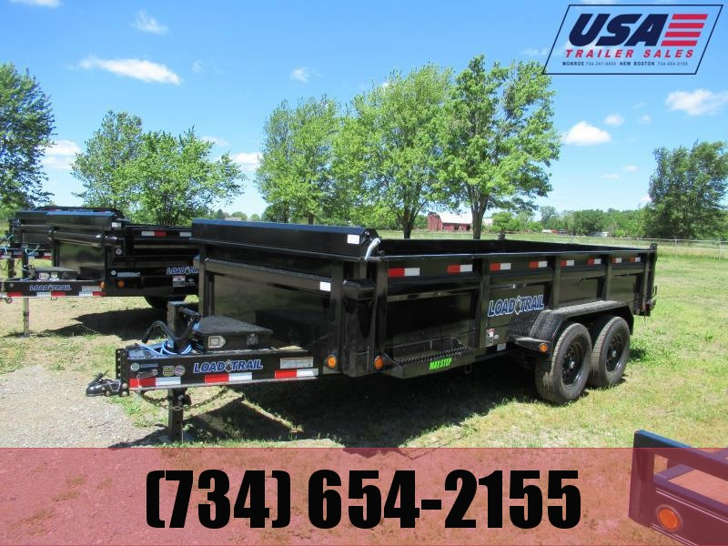 New Load Trail 83x16 14K Dump Trailer
