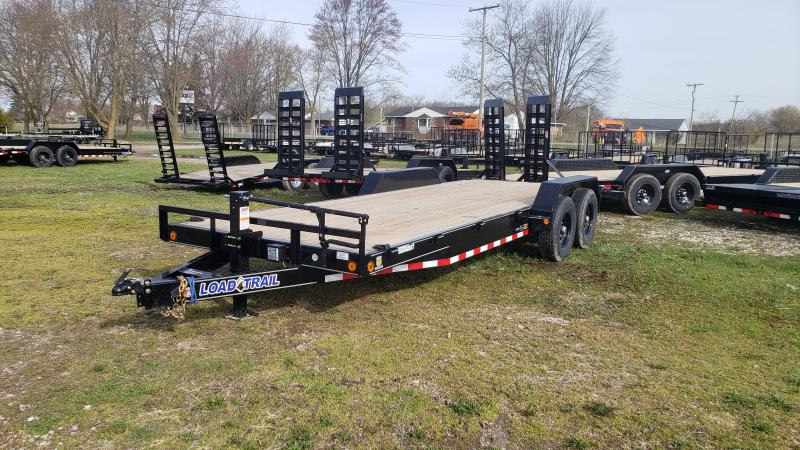NEW 83X22 LOAD TRAIL 14K CARHAULER TRAILER