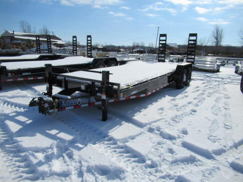 New 83x24 14K Load Trail Equipment Trailer W/ Rub Rail