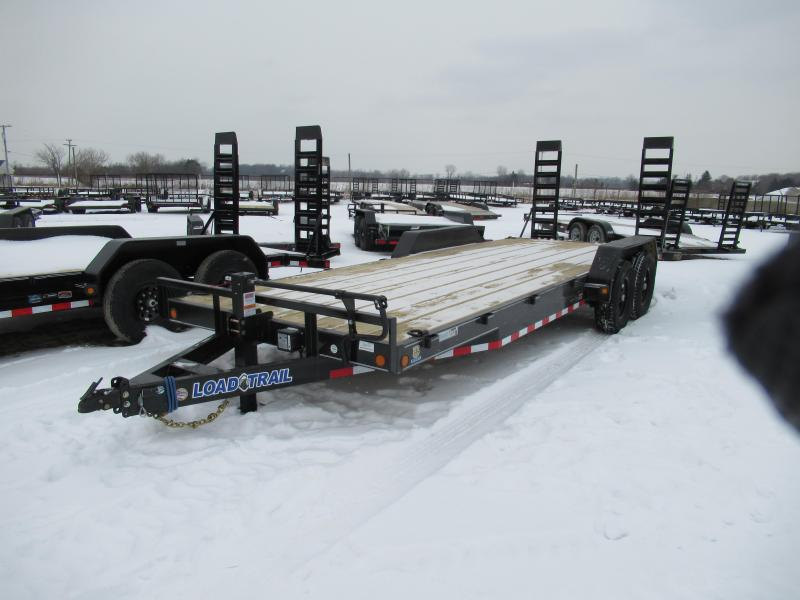 New 83x22 14K Equipment Trailer Equipment Trailer