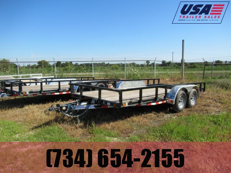 New 83x16 Load Trail Landscape Trailer W/1 Brake