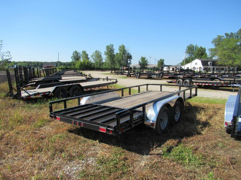 New 83x16 Load Trail Landscape Trailer W/1 Brake