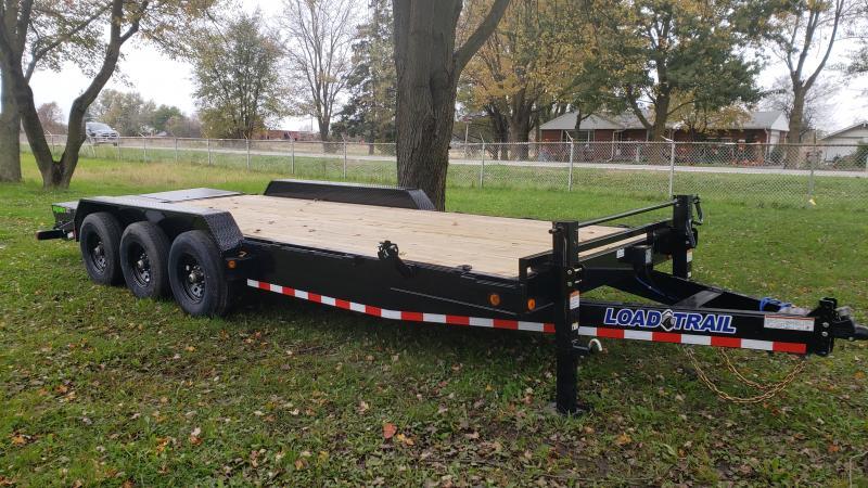 2022 Load Trail 83x22 Triple Axle Equipment Trailer Equipment Trailer