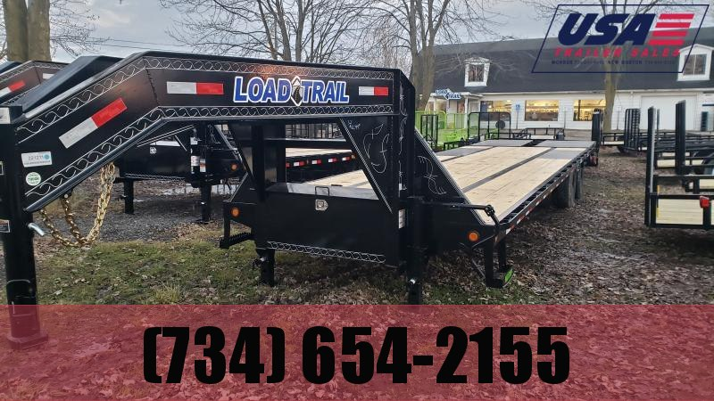 New 32' Load Trail 20K Gooseneck Deck Over